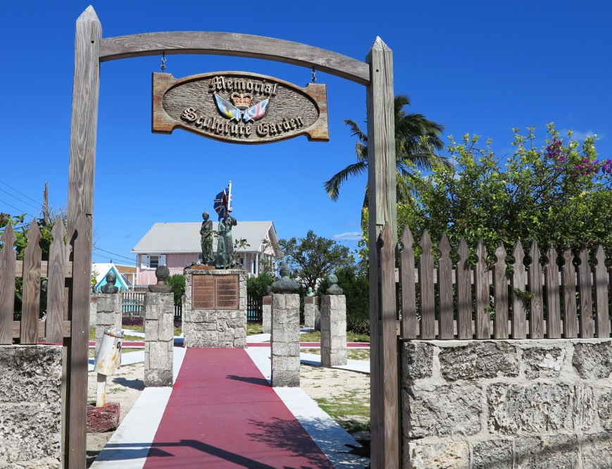 Memorial Sculpture Garden, Green Turtle Cay, Abaco, Bahamas