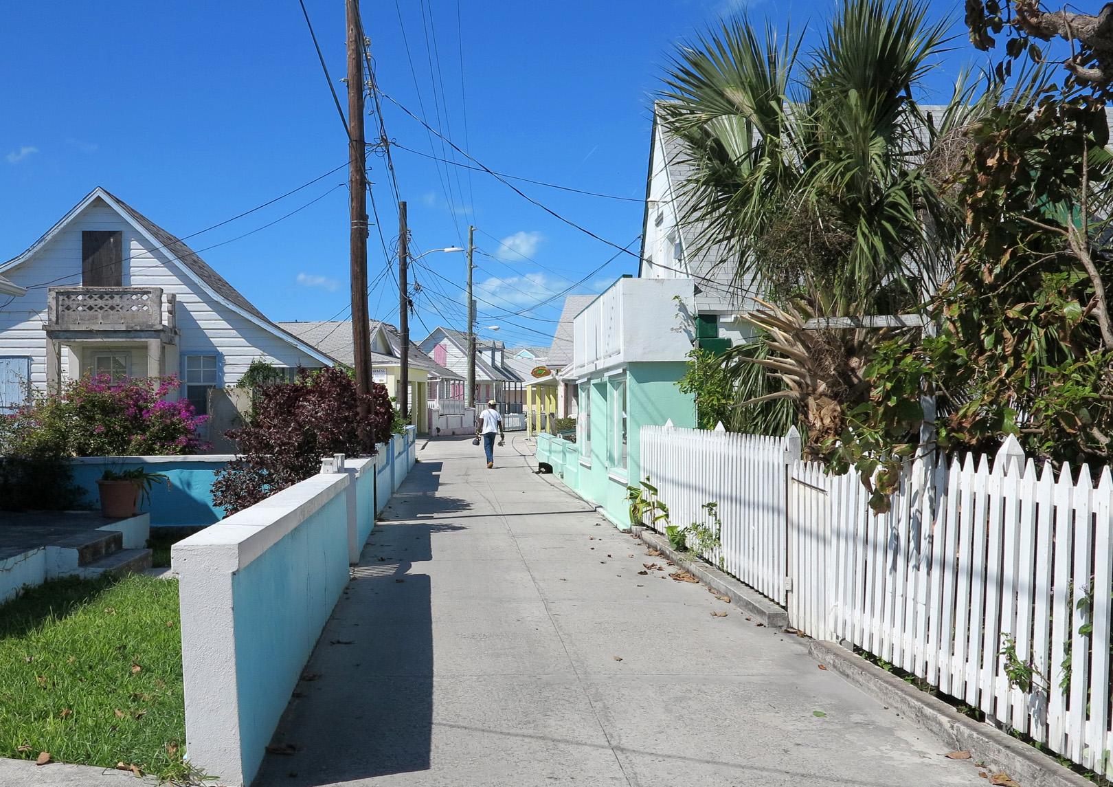 Street Scene - Green Turtle Cay, Abaco, Bahamas