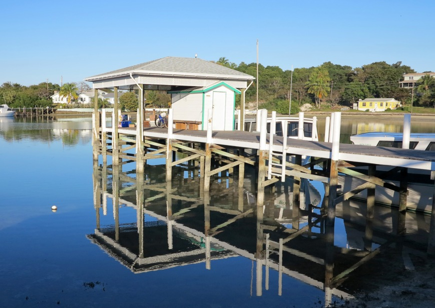 Ferry Dock, Green Turtle Cay, Bahamas