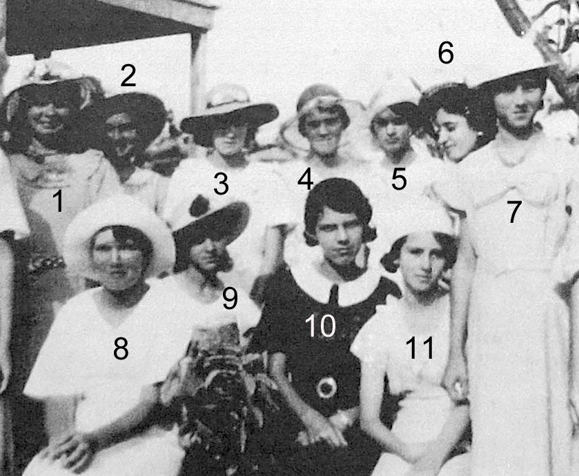 Can you help identify these ladies?