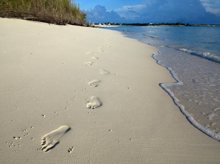 Early morning walk, Gillam Bay