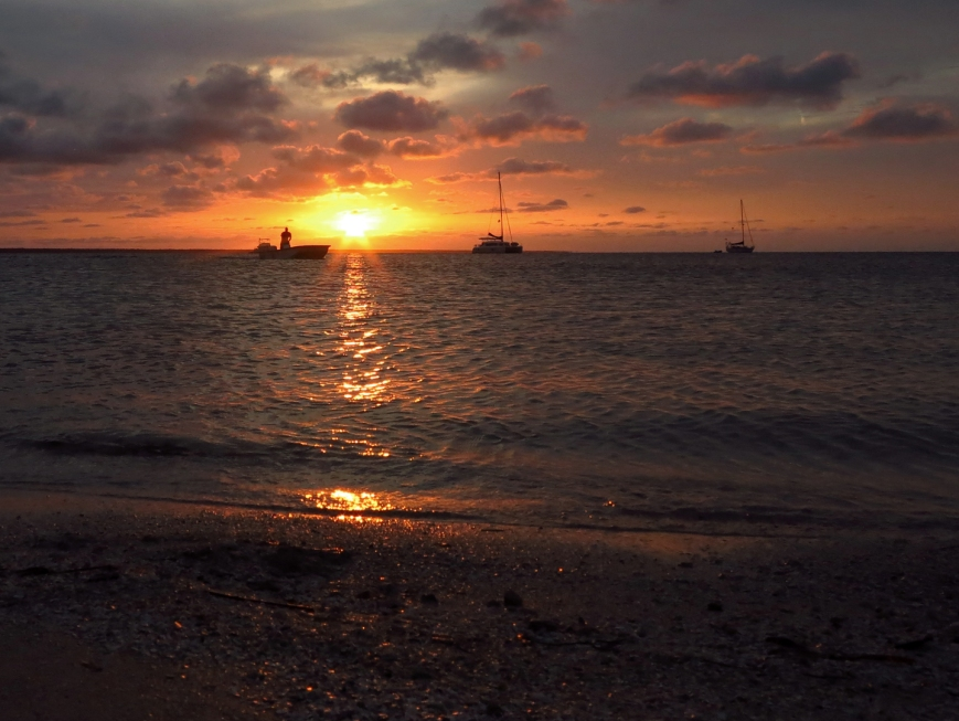Sunset over the Sea of Abaco