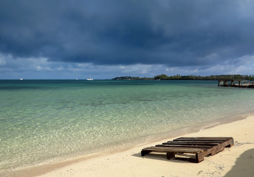 A storm approaches Green Turtle Cay