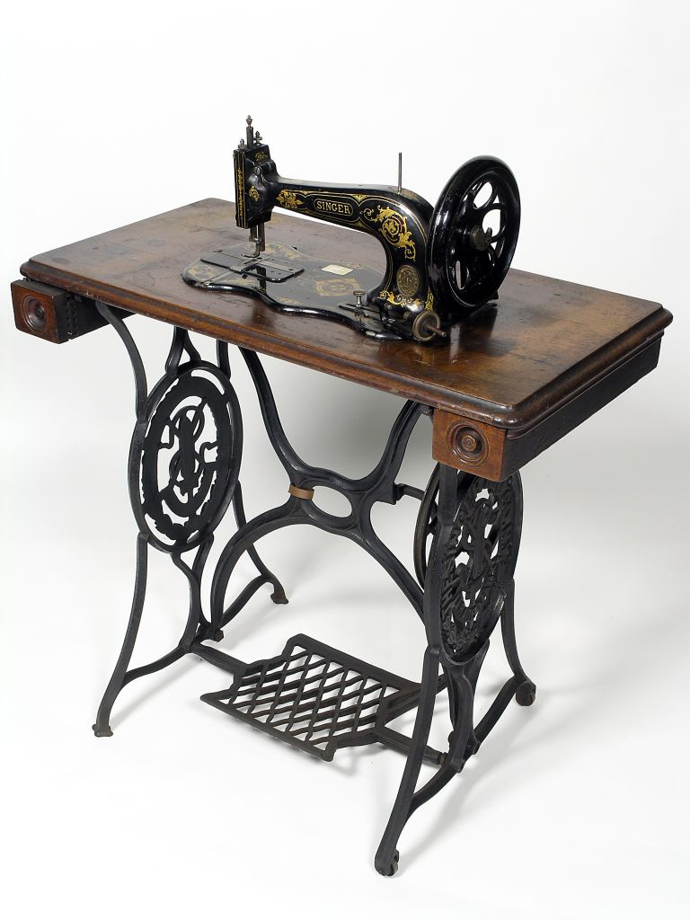 Repurposing Antique Sewing Machine