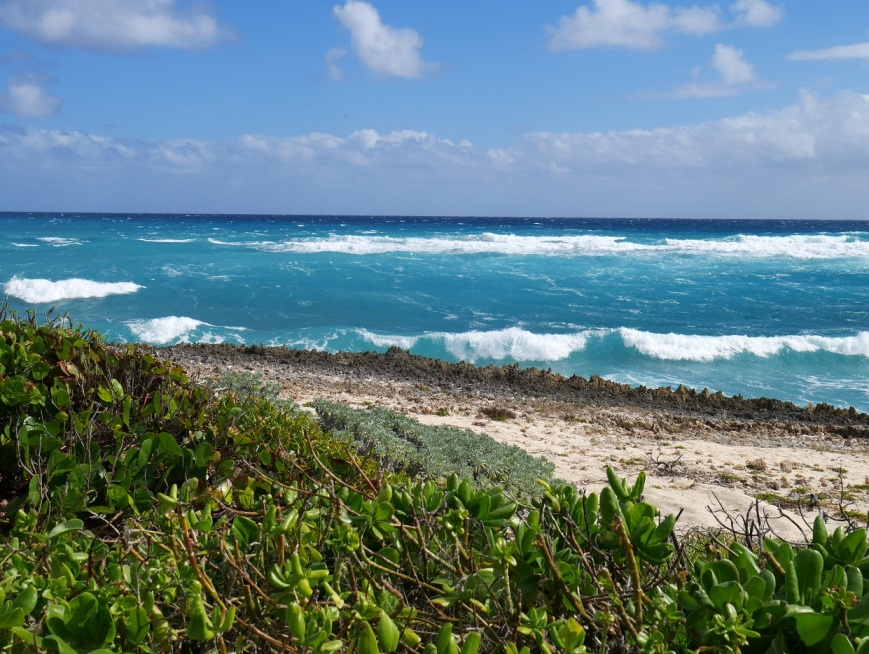 Windy Day at Hope Town, Abaco, Bahamas