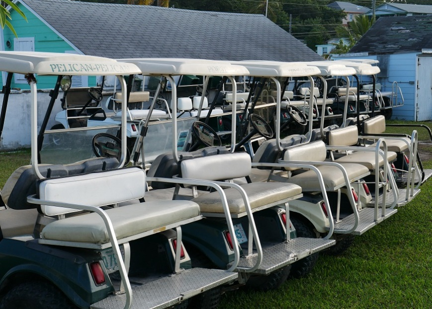 Golf Carts - Green Turtle Cay, Bahamas