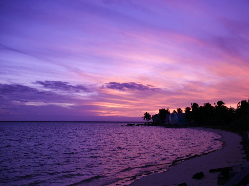 Sea of Abaco Sunset - Green Turtle Cay, Bahamas