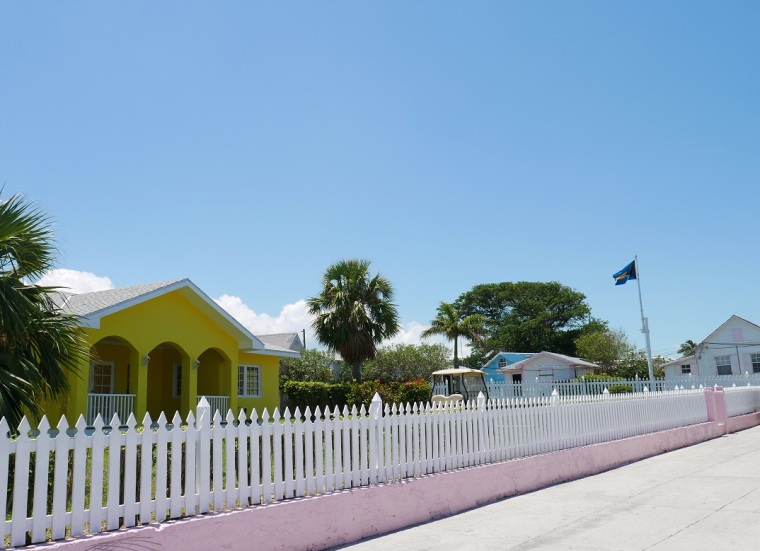 www.LittleHousebytheFerry.com - Daily Photo - Parliament Street, Green Turtle Cay, Abaco, Bahamas.