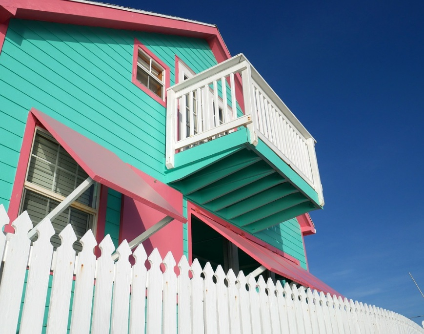 www.LittleHousebytheFerry.com - Daily Photo - Sawyer house, Green Turtle Cay, Abaco, Bahamas.