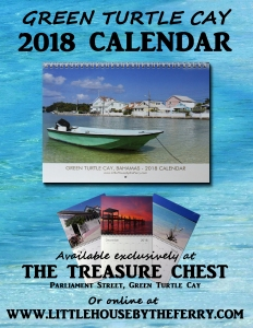 The Green Turtle Cay (Bahamas) 2018 Calendar is available now!
