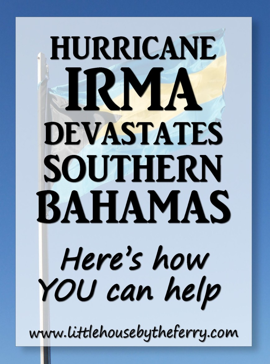 Many Bahamians have lost their homes and livelihoods. Please help if you can.