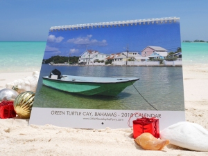 Available now! 2018 Green Turtle Cay Wall Calendar.