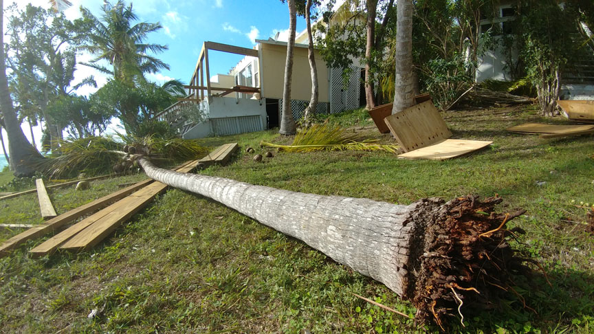 Suspected Tornado Touches Down on Green Turtle Cay