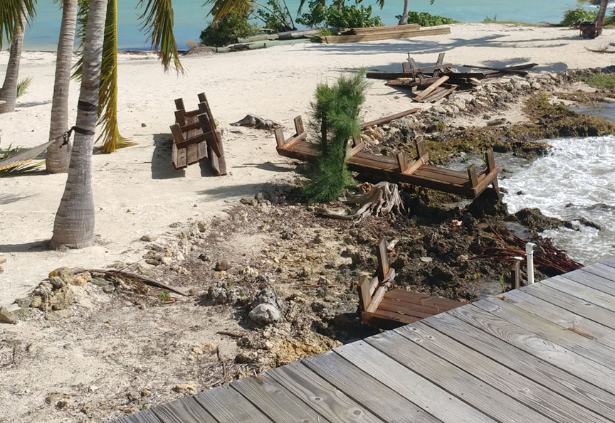 Suspected Tornado Hits Green Turtle Cay
